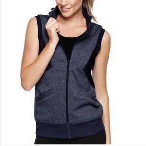 Lorna Jane Angelique Vest, Navy, XS